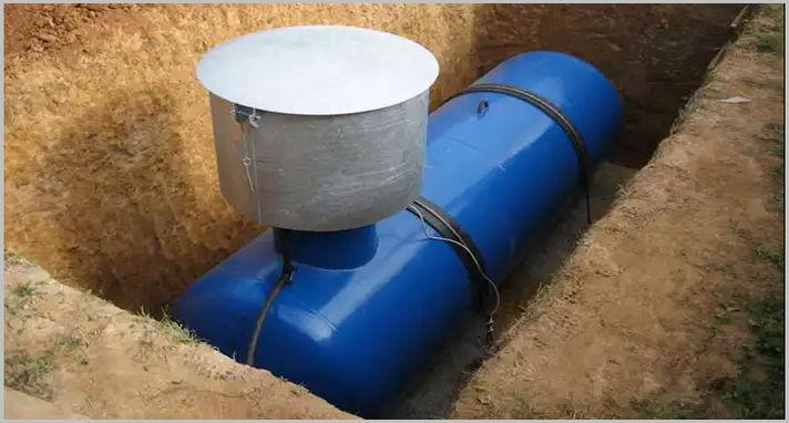 Газгольдер для автономной газификации